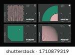 new modernism aesthetics in... | Shutterstock .eps vector #1710879319