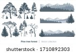 vector collection with fir... | Shutterstock .eps vector #1710892303