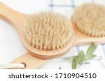 Wooden Massage Brushes With...