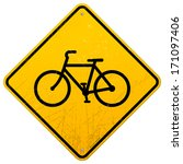 bike sign | Shutterstock .eps vector #171097406