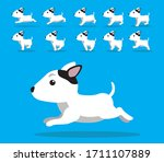 animal animation sequence dog... | Shutterstock .eps vector #1711107889