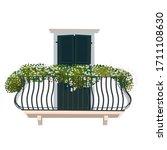 Arched Window With Balcony ...