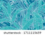 Tropical Leaves Pattern....