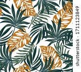 original seamless tropical... | Shutterstock .eps vector #1711123849