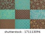 handmade paper textures... | Shutterstock . vector #171113096