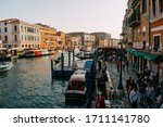 The Grand Canal Of Venice Is...