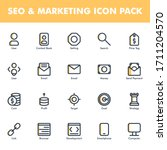 seo   marketing icon pack...