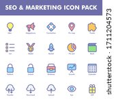 seo   marketing icon pack...
