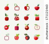 apple. elements for design | Shutterstock .eps vector #171121460