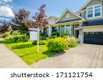 house for sale. real estate... | Shutterstock . vector #171121754