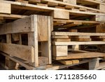 Wood Pallets Background And...