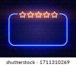 neon quiz banner on brick wall. ... | Shutterstock .eps vector #1711310269