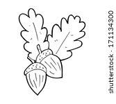 cartoon acorns | Shutterstock .eps vector #171134300