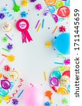 a vertical top down view of...   Shutterstock . vector #1711445659