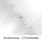 abstract grey white waves and... | Shutterstock .eps vector #1711446460