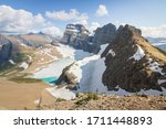 Overlooking Grinnell Glacier In ...