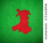 Map Of Wales  Uk. The Map Is...