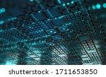 cyber technology in digital...   Shutterstock . vector #1711653850