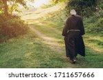 Catholic Monk Of The Capuchin...