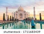 Taj Mahal In India Without...