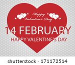 valentine's  day background 7 | Shutterstock . vector #171172514