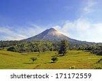 arenal volcano  costa rica | Shutterstock . vector #171172559