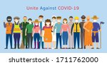 group of thai people various... | Shutterstock .eps vector #1711762000