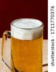 A Pint Of Blonde Beer  Ale Or...