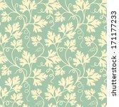 vector flower seamless pattern...   Shutterstock .eps vector #171177233