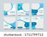 medical health square banner...   Shutterstock .eps vector #1711799713