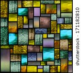 Stained Glass Church Window In...