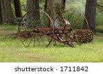 farm equipment | Shutterstock . vector #1711842