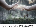 Hands As A Symbol Of Care For...