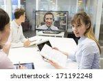 business meeting in office ...   Shutterstock . vector #171192248