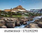 Reynolds Mountain At Logan Pas...