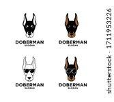 Collection Set Doberman Dog...