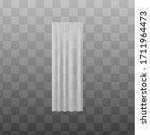 white silky light fabric... | Shutterstock .eps vector #1711964473