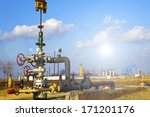 production wellhead  | Shutterstock . vector #171201176