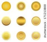 gold medal  | Shutterstock .eps vector #171213800