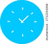 time  clock  watch icon....