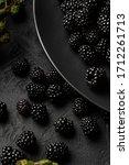 Blackberries  Not Ripened  In...
