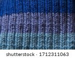 colorful handmade knitted... | Shutterstock . vector #1712311063