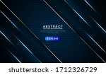 geometric navy blue abstract...   Shutterstock .eps vector #1712326729