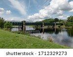 Train Girder Bridge Across...