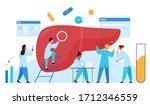 doctors scientists people in... | Shutterstock .eps vector #1712346559