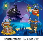 pirate cove theme image 3  ... | Shutterstock .eps vector #171235349