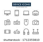 set of device vector icons....