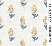 seamless daisy floral pattern... | Shutterstock .eps vector #1712376463