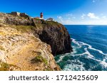 Lighthouse Of Cabo Sao Vicente...