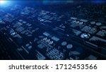 hi tech digital display...   Shutterstock . vector #1712453566
